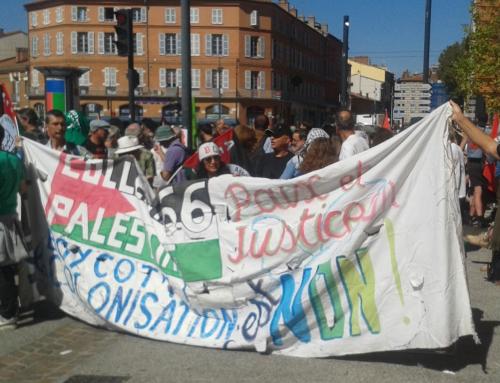 Rassemblement pour Gaza  lundi 7 mai à Perpignan place Arago à 18H