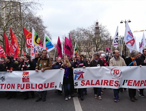 Fonction publique, tous en grève unitaire le 22 mai 2018 !
