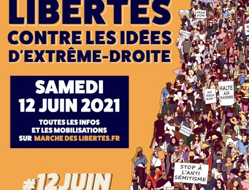 Marche des libertés et contre les idées d'extrême droite